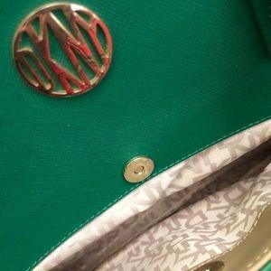 Donna karan purse green